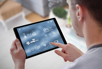 Smart Home mit Tablet
